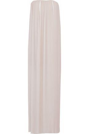 RACHEL GILBERT Naya strapless plissé dégradé chiffon gown