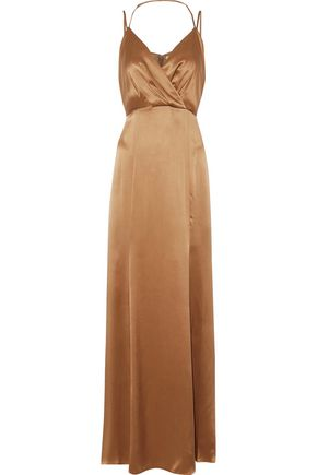 Octavia Silk Satin Maxi Dress by L'agence