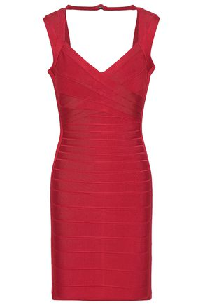 HERVÉ LÉGER Sarai cutout bandage mini dress