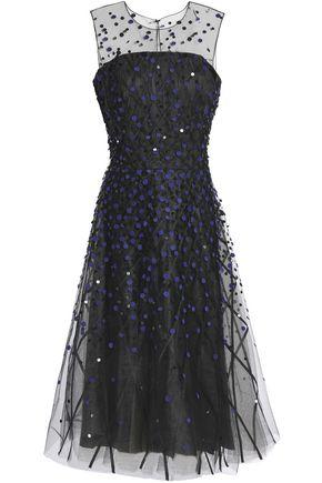 SACHIN & BABI Embellished tulle gown