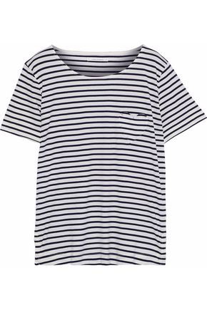 CHINTI AND PARKER Striped cotton-jersey T-shirt
