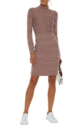 W118 by WALTER BAKER Rebecca knitted mini dress