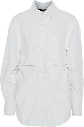 W118 by WALTER BAKER Stella pleated poplin shirt