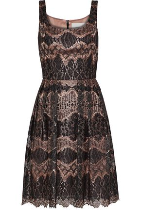 CAROLINA HERRERA Metallic corded lace dress