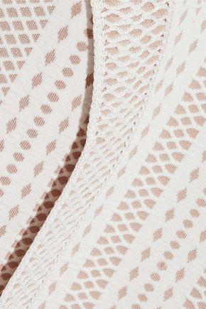 HERVÉ LÉGER Jacquard-knit dress