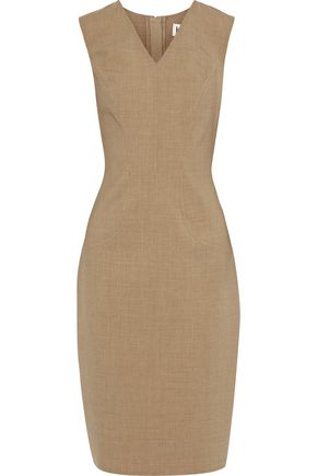 CAROLINA HERRERA Wool-blend dress