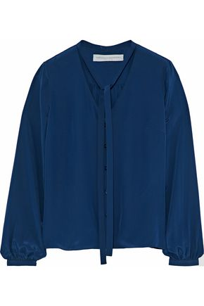 CAROLINA HERRERA Silk crepe de chine blouse