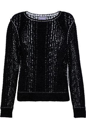HERVÉ LÉGER Ronja jacquard-knit sweater