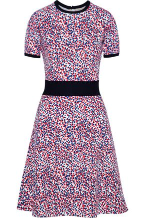CAROLINA HERRERA Polka-dot wool dress