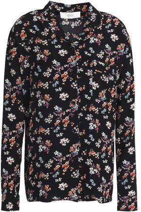 VANESSA BRUNO ATHE' Floral-print crepe de chine shirt