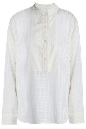 VANESSA BRUNO ATHE' Cotton-blend jacquard blouse