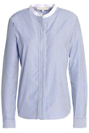 VANESSA BRUNO Striped cotton-poplin shirt