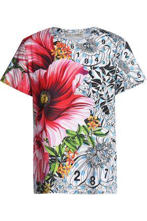 MARY KATRANTZOU Iven printed cotton-jersey T-shirt