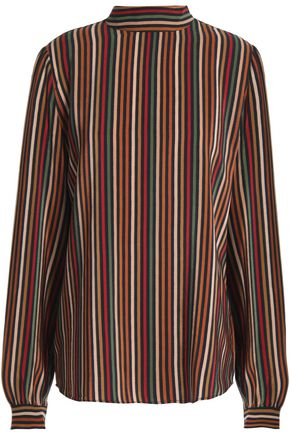 VANESSA BRUNO Striped silk blouse