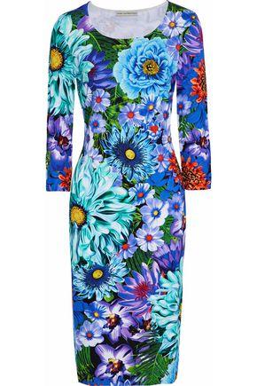 MARY KATRANTZOU Pluto floral-print stretch-jersey dress