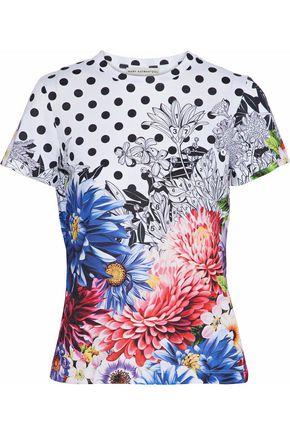 MARY KATRANTZOU Iven floral-print cotton-jersey T-shirt