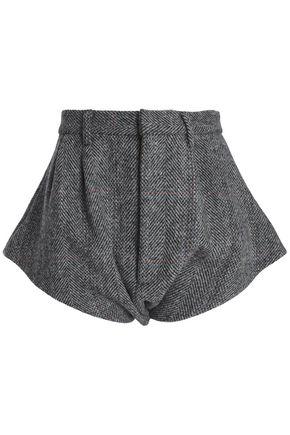 MAISON MARGIELA Herringbone wool shorts