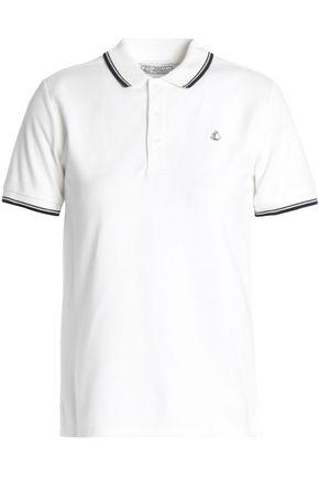 PETIT BATEAU Embroidered cotton-piqué shirt