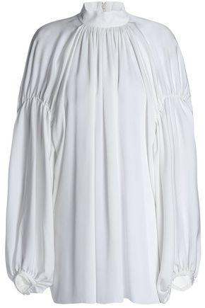EMILIO PUCCI Pleated crepe tunic