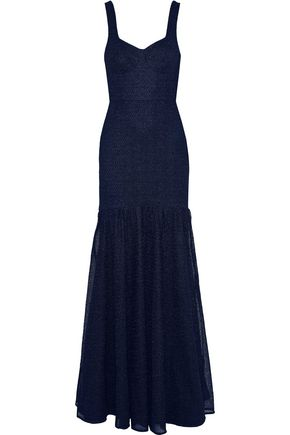 REBECCA VALLANCE Avignon tie-back lace gown