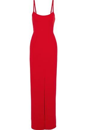 JENNY PACKHAM Front-split crepe gown