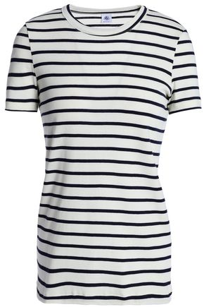 f5e37220f51 PETIT BATEAU Striped cotton-jersey T-shirt