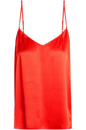 EQUIPMENT Silk-satin camisole