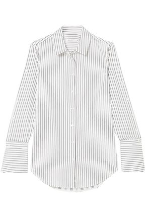 EQUIPMENT Rossi striped cotton-poplin shirt