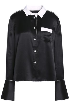 EQUIPMENT Silk-satin shirt
