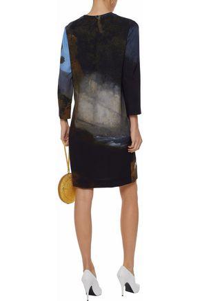 STELLA McCARTNEY Printed cady dress