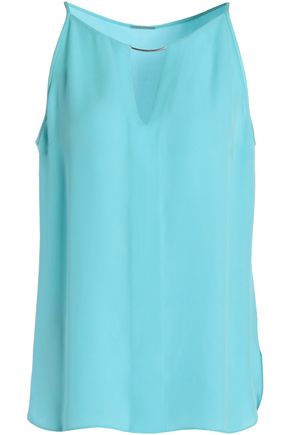 ELIE TAHARI Silk-crepe top