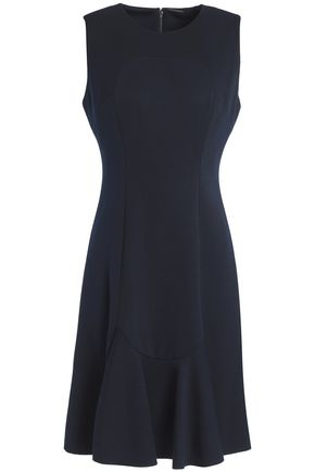 ELIE TAHARI Fluted jersey dress