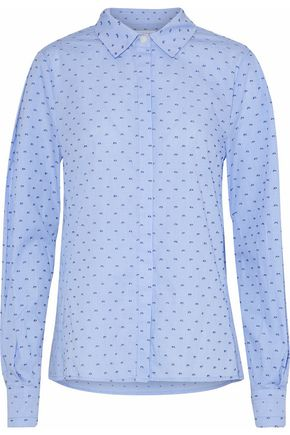 DEREK LAM 10 CROSBY Gingham fil coupé cotton shirt