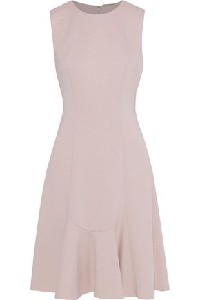 ELIE TAHARI Lizzie fluted ponte dress