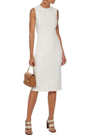 DEREK LAM Ribbed wool dress