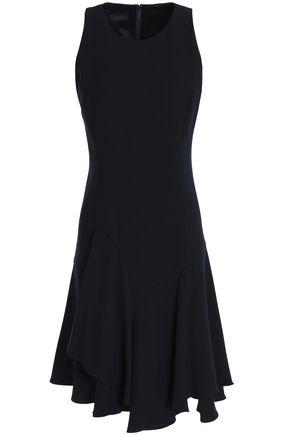 ELIE TAHARI Lalana asymmetric crepe dress