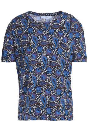 SANDRO Josefa cotton-jersey T-shirt