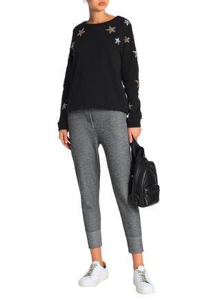ZOE KARSSEN Embellished cotton sweatshirt