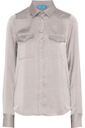 M.I.H JEANS Venetia satin shirt