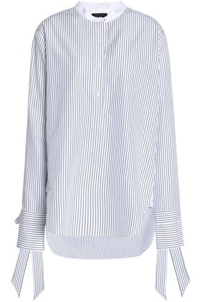 RAG & BONE Striped cotton-poplin shirt