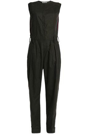 AGNONA Mélange wool-blend jumpsuit