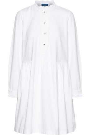 M.I.H JEANS Sherman cotton-twill mini dress