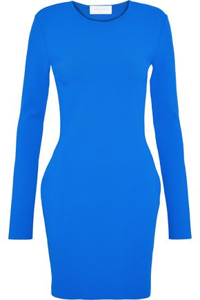 ESTEBAN CORTAZAR Capri cutout stretch-knit mini dress