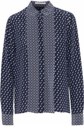 STELLA McCARTNEY Angla printed silk crepe de chine shirt