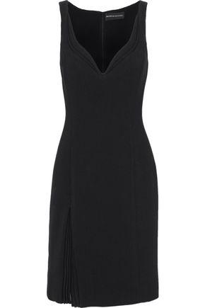 BRANDON MAXWELL Pleated knitted dress