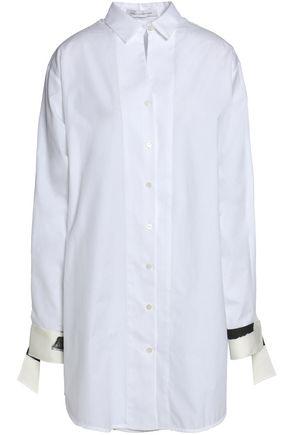CHRISTOPHER ESBER Cotton-poplin mini shirt dress