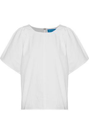 M.I.H JEANS Mina cotton-twill T-shirt