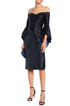 MILLY Selena sequined dress