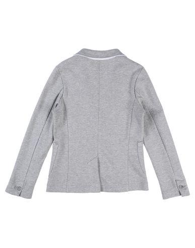 Фото 2 - Пиджак от PAOLO PECORA светло-серого цвета
