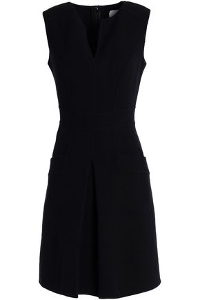 CAROLINA HERRERA Wool-crepe dress